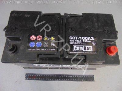 Аккумулятор 6 ст 100 Combat 353*175*190 780A -/+ Евро