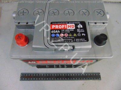 Аккумулятор 6 ст 60 Сада PROFI HD (242*175*190) 600 А +/-
