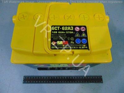 Аккумулятор 6 ст 60 Сада STD(242*175*190) 510 А +/-