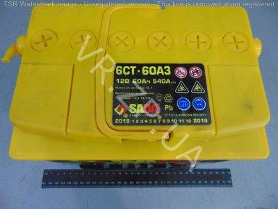 Аккумулятор 6 ст 60 Сада-STD (242*175*190) 510 А -/+ ЕВРО