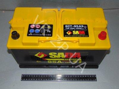 Аккумулятор 6 ст 90 Сада STD(353*175*190) 720 А -/+