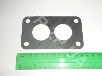 Прокладка карбюратора ВАЗ-2108, 1102 коллект-карбюр ( одинаков отв)