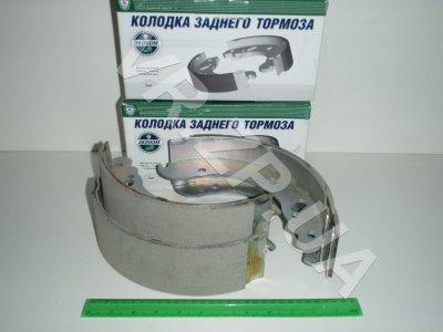 Колодка торм.задняя ГАЗ 3302 ТИИР к-т 4шт. (ГАЗ-Эконом)