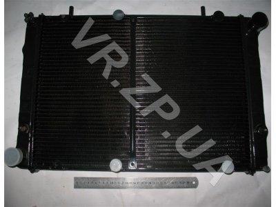 Радиатор 3302, 2217 ШААЗ под эл.вентилятор Соболь 2-рядн.(штырь)