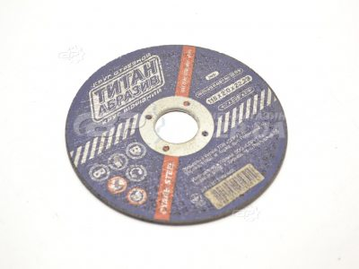 Круг отрезной по металлу 115х2х22, 2 Титан Абразив