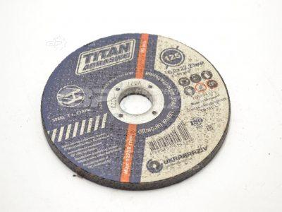 Круг зачистной 125х6.0х22.23 Титан Абразив