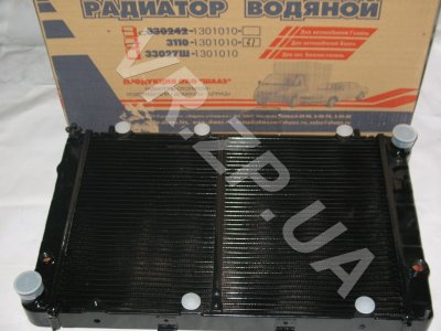 Радиатор 3110 ШААЗ