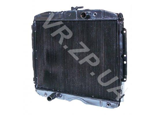 Радиатор 3309, 3307 ШААЗ 3-х рядн